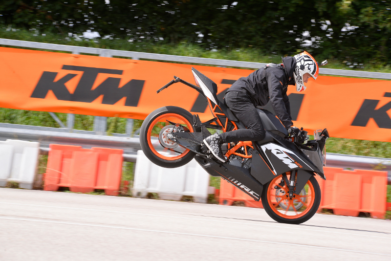 Rok Bagoroš KTM RC 125 Launch Marchtrenk © Sebas Romero