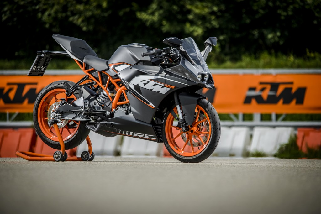 Finally There And Ready To Test The All New Ktm Rc 125 Ktm Blog