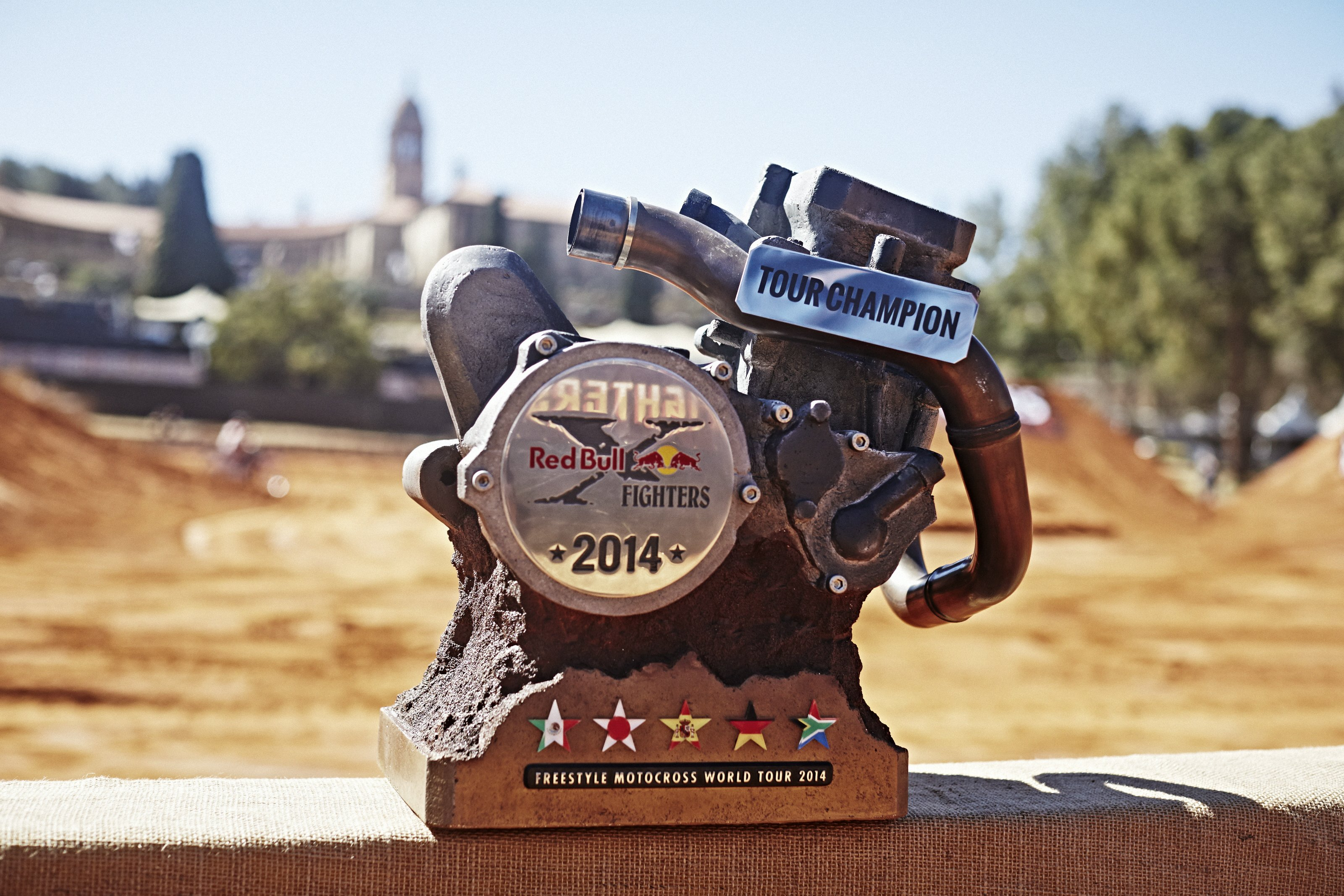 Trophy Red Bull X-Fighters Pretoria © Red Bull Content Pool