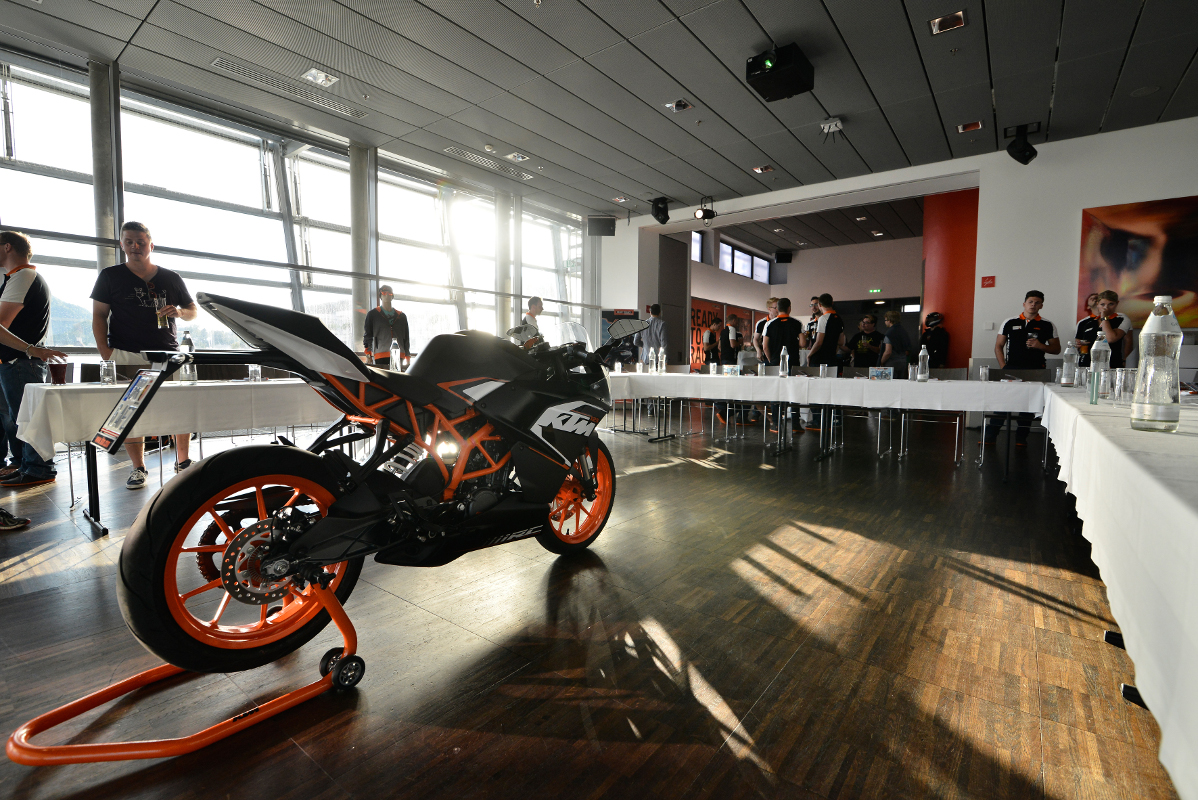 KTM RC 125 Press Launch Linz © Sebas Romero