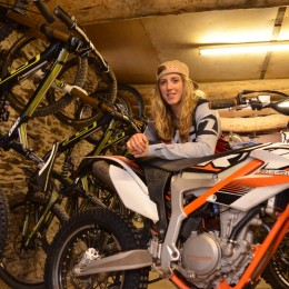 Rachel Atherton & KTM FREERIDE 350