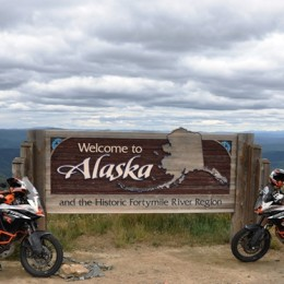 Juhu – wir sind in Alaska! | Yay – we reached Alaska!