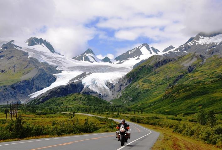 36 Gletscher bis zum Straßenrand
