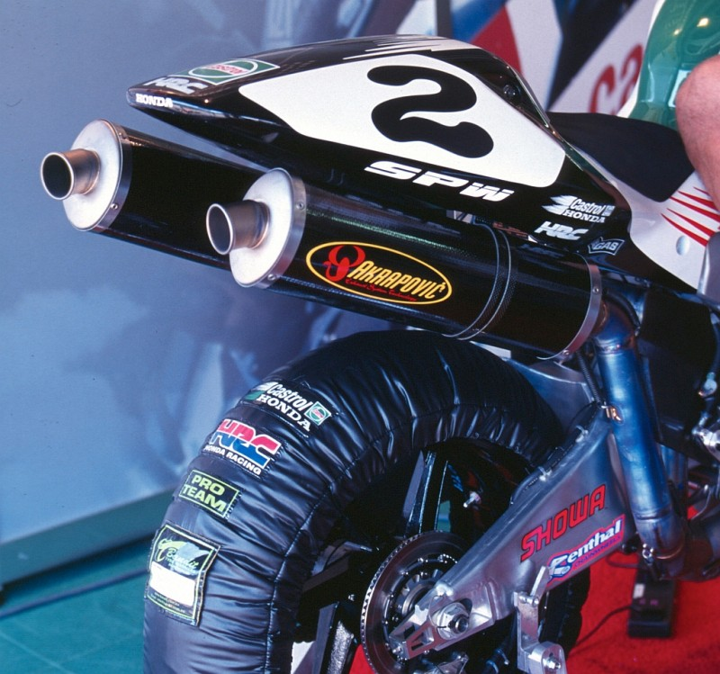 Honda VTR1000SP Colin Edwards