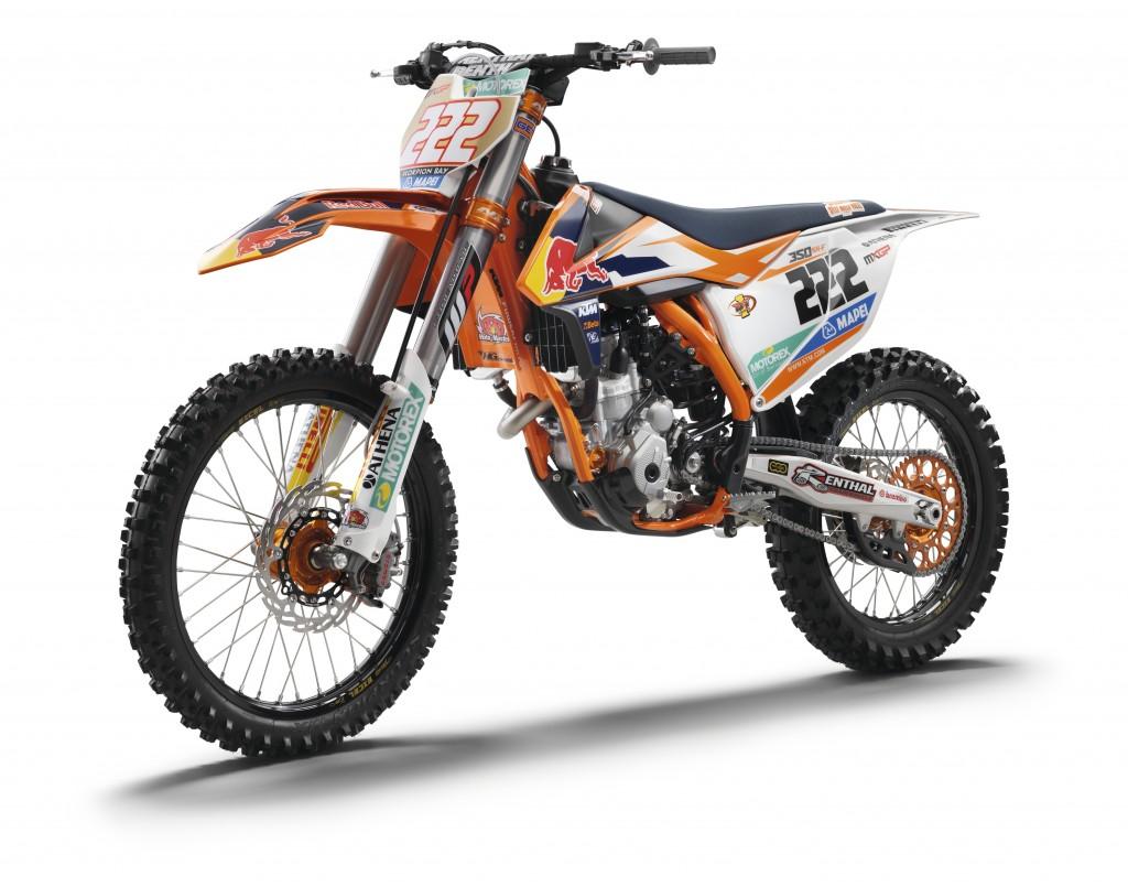 Tony Cairoli´s KTM 350 SX-F FACTORY