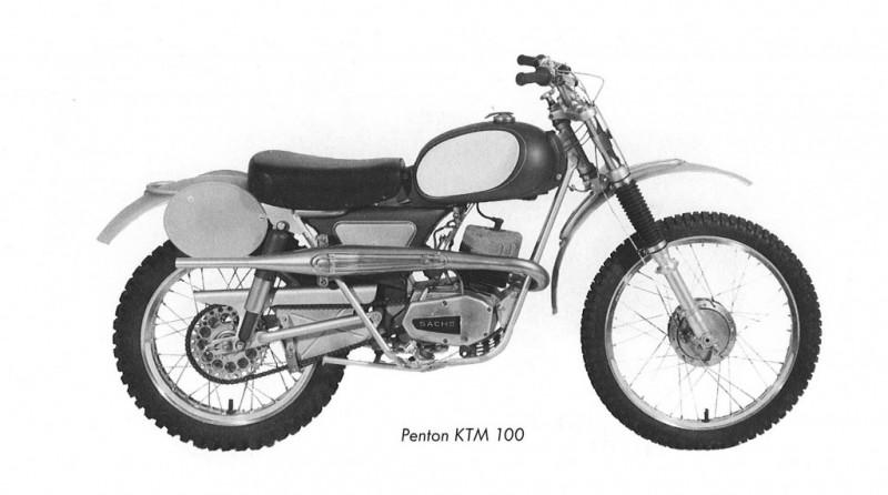 Penton KTM 100