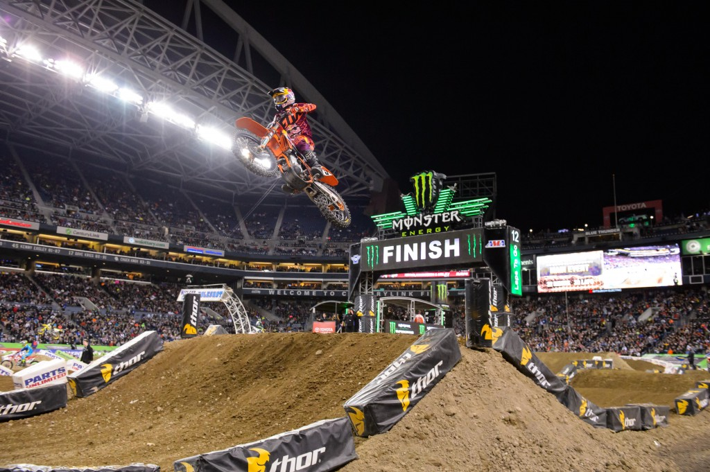 Ryan Dungey KTM 450 SX-F Seattle 2014