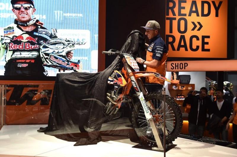 Tony Cairoli KTM 350 SX-F FACTORY EICMA 2014