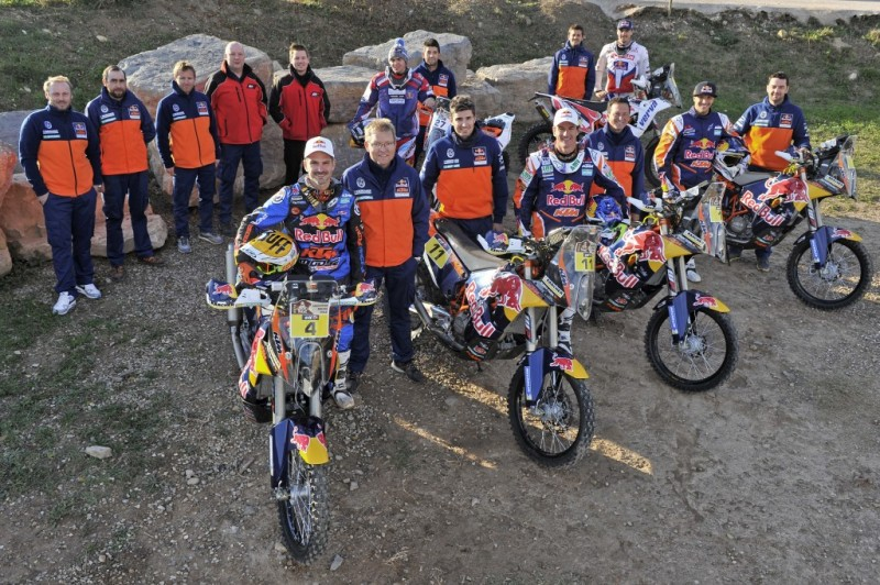 Red Bull KTM Rally Factory Racing Team 2015