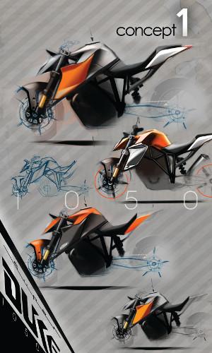 1290 SUPER DUKE R concept 1