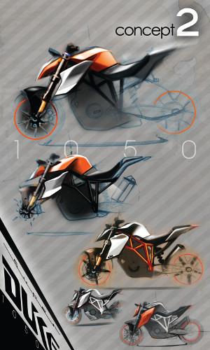 1290 SUPER DUKE R concept 2
