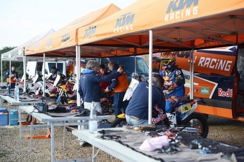 KTM Rally Test
