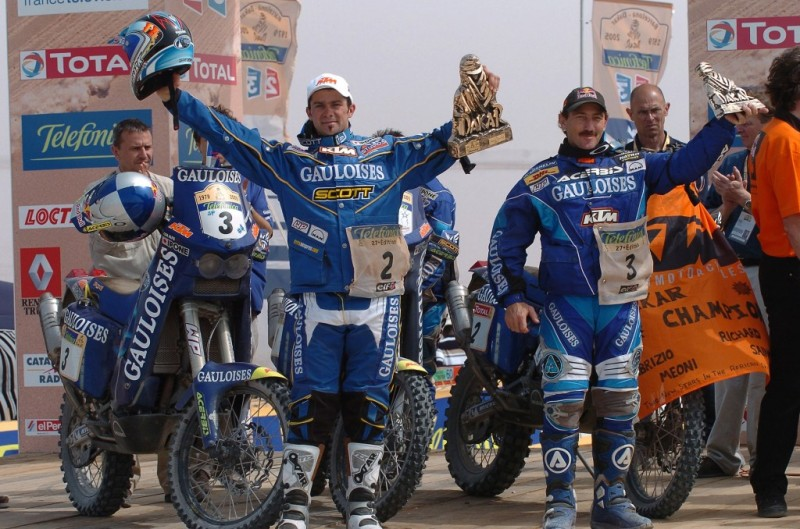 Cyril Despres & Alfie Cox Rally Dakar 2005