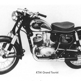 #inthisyear1955: KTM presented KTM Grand Tourist at the Vienna International Spring Fair