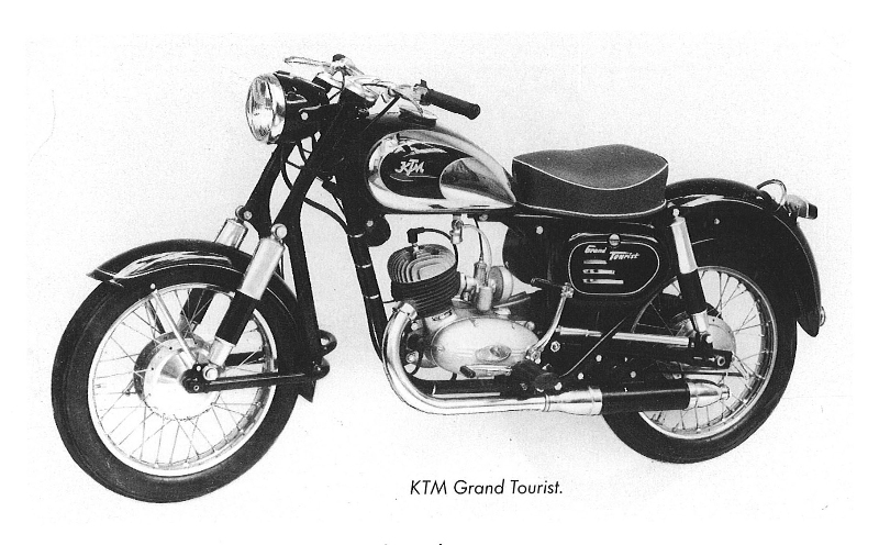 Inthisyear1955 Ktm Presented Ktm Grand Tourist At The