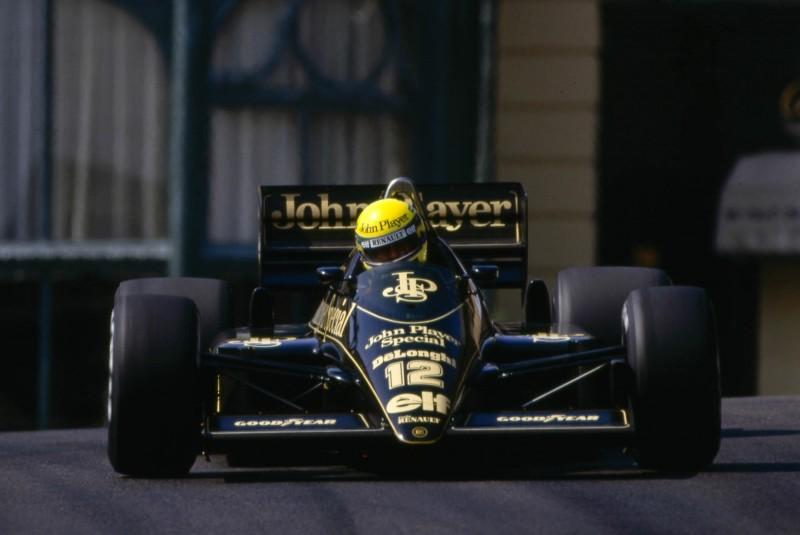 Senna-Lotus Monaco