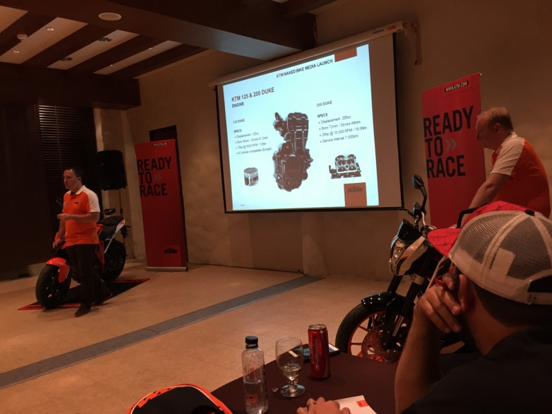 KTM Naked Bike Media Launch 2015