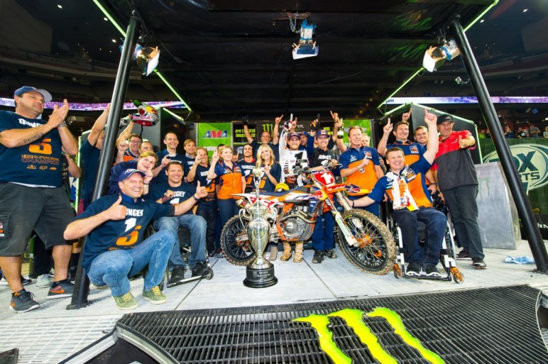 Red Bull KTM Factory Racing Team Houston 2015