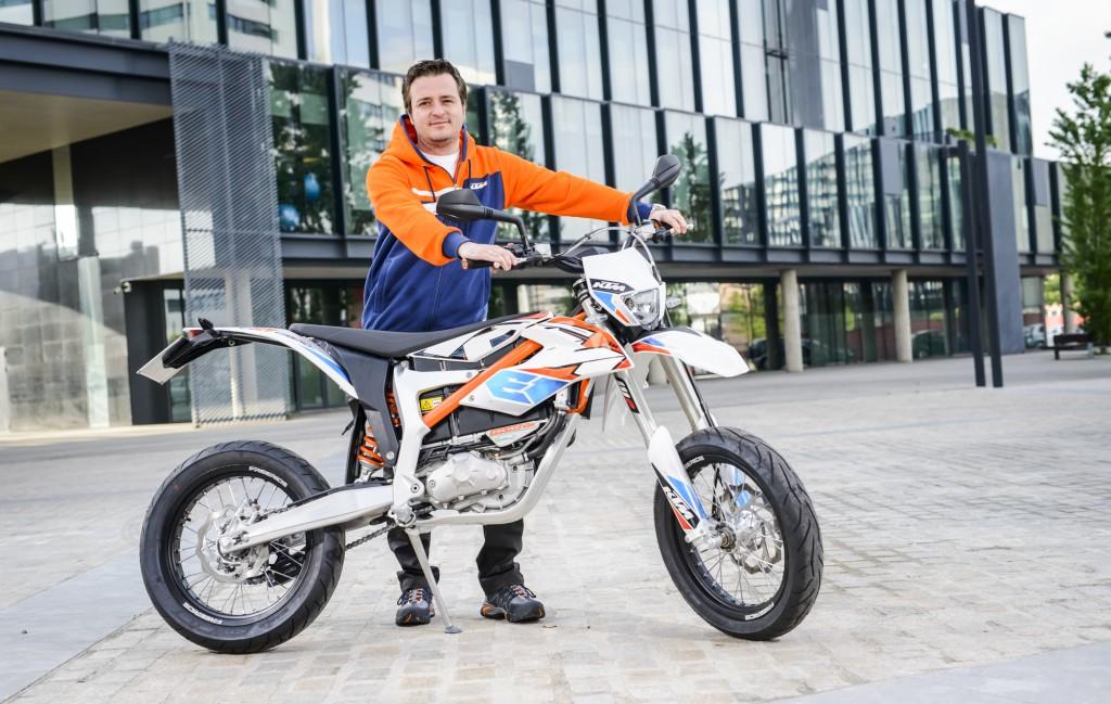 Ktm Freeride E Sm >> Interview of the Month: Arno Ebner about KTM FREERIDE E-SM - KTM BLOG