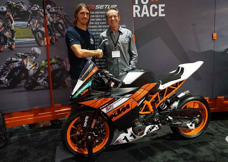 Chris Fillmore & KTM RC 390 Cup