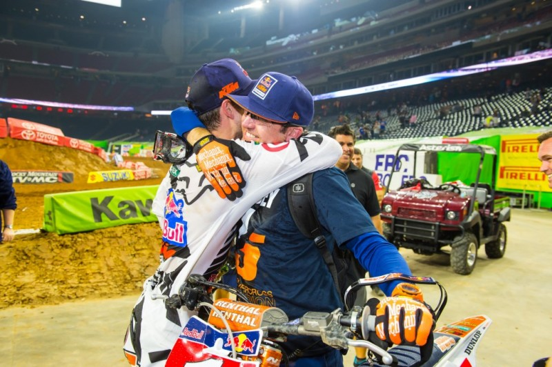 Ryan Dungey & Carlos Rivera Houston 2015