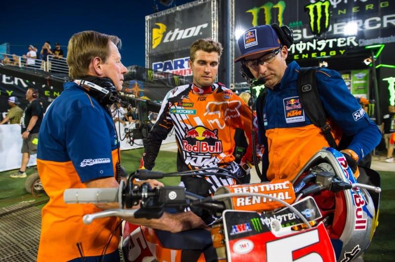 Roger De Coster, Ryan Dungey & Carlos Rivera Las Vegas 2015