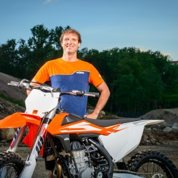 Manfred Edlinger & KTM SX MY16