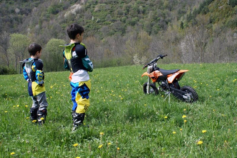 Jordi, Alex & KTM 50 SX