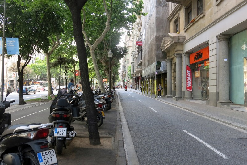 Avinguda Diagonal in Barcelona