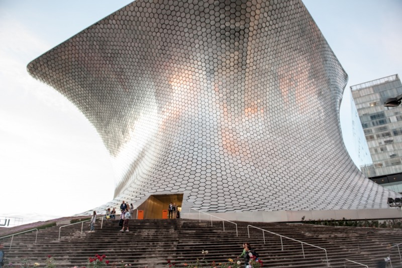 Museo Soumaya en Mexico-City