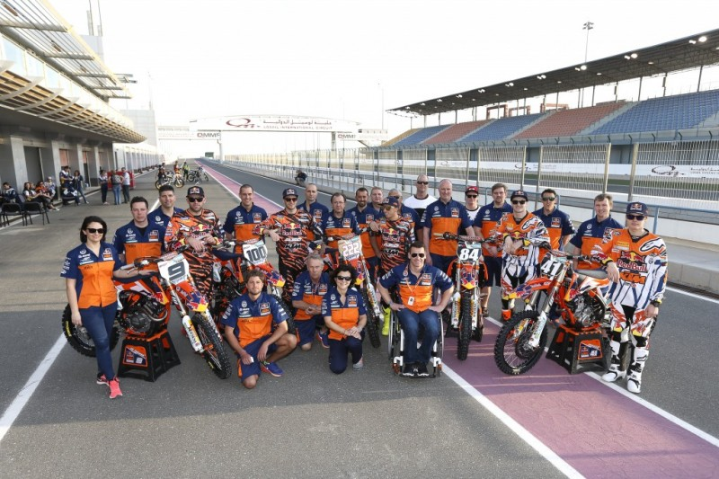 KTM MX Team Qatar 2015