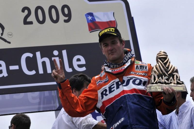 Marc Coma Dakar Rally 2009