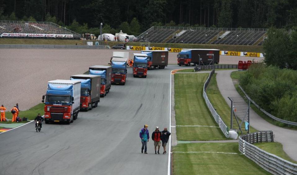 Dorna truck track
