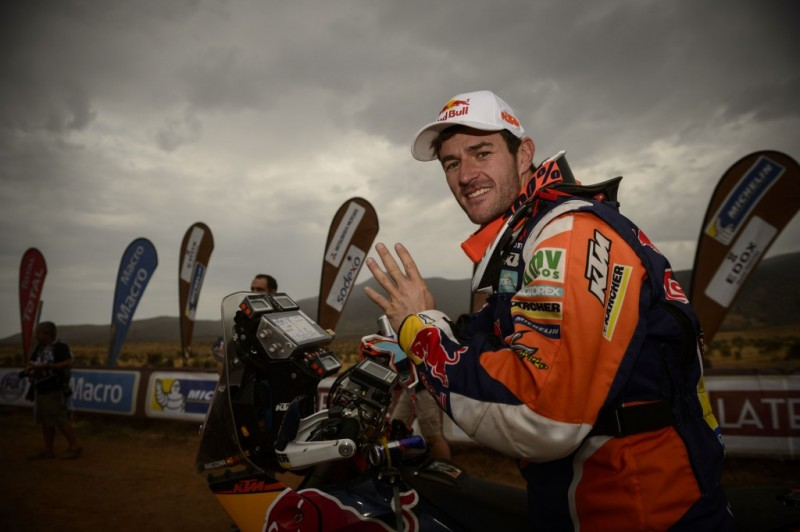 Marc Coma KTM 450 RALLY Rally Dakar 2014