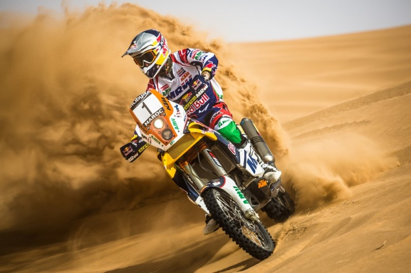 Marc Coma Morocco Rally 2012