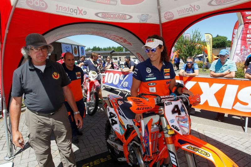 Laia Sanz KTM 350 EXC-F Belgium 2015