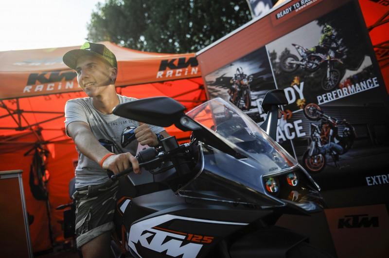 Andrea Migno & KTM RC 125