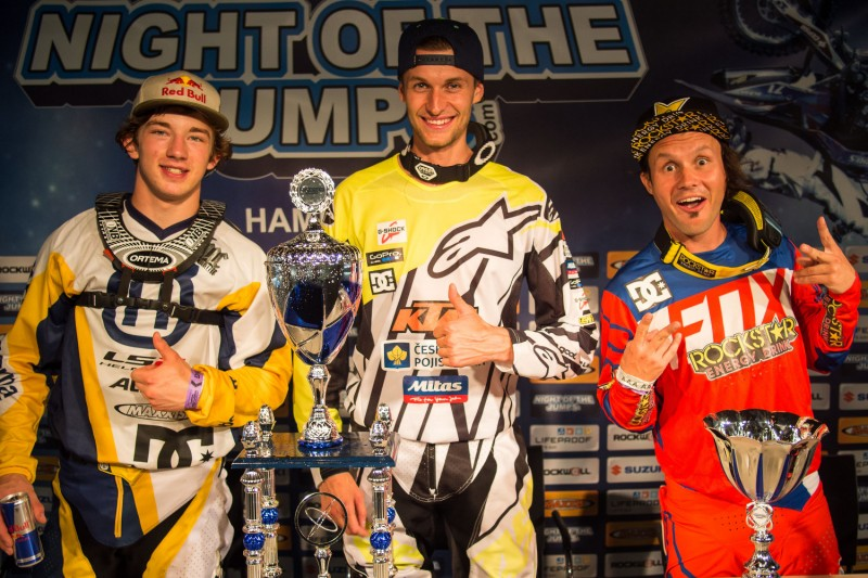 Luc Ackermann, Petr Pilat & Brice Izzo Night of the Jumps Hamburg 2015