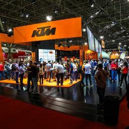 KTM Stand Salão Duas Rodas 2015