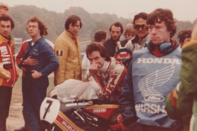 Barry Sheene Brands Hatch 1979