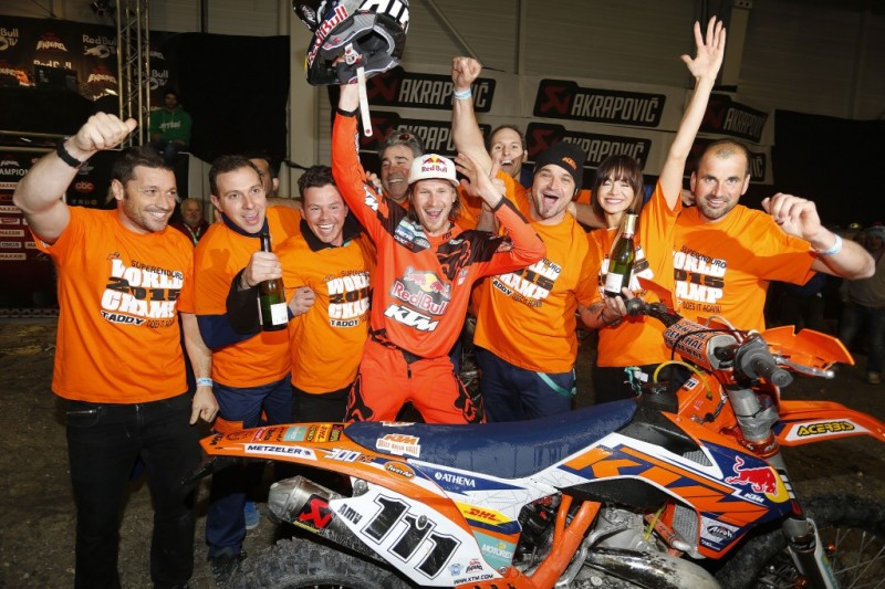 Taddy Blazusiak KTM 300 EXC SuperEnduro Cahors (FRA) 2015