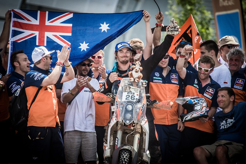 Toby Price KTM 450 RALLY Dakar 2015