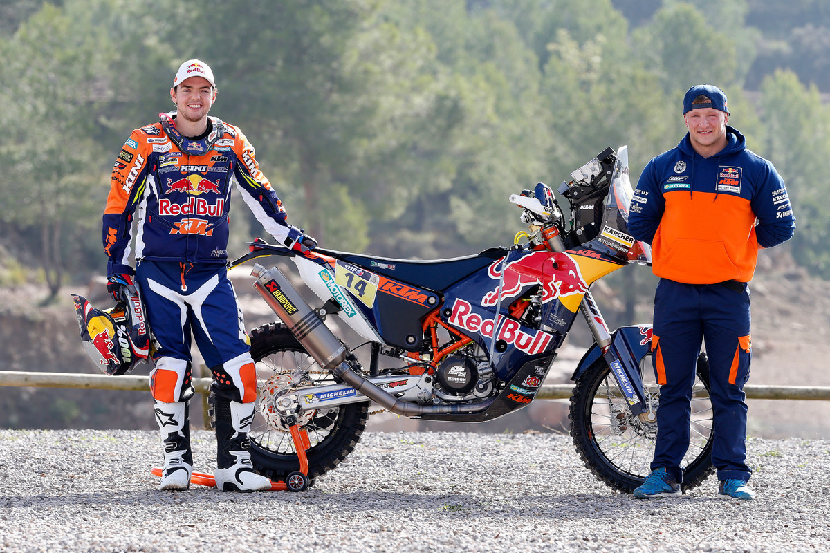 red bull ktm rally factory racing team ist ready to race ktm blog. Black Bedroom Furniture Sets. Home Design Ideas
