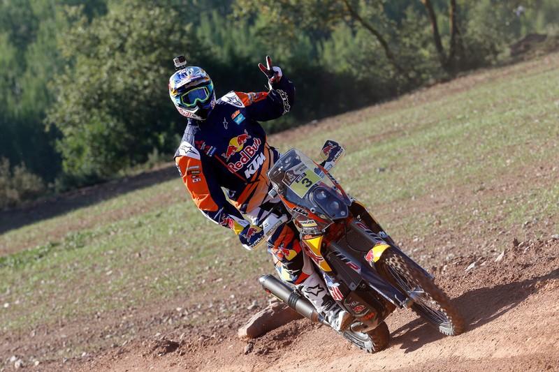 Toby Price KTM 450 RALLY 2015