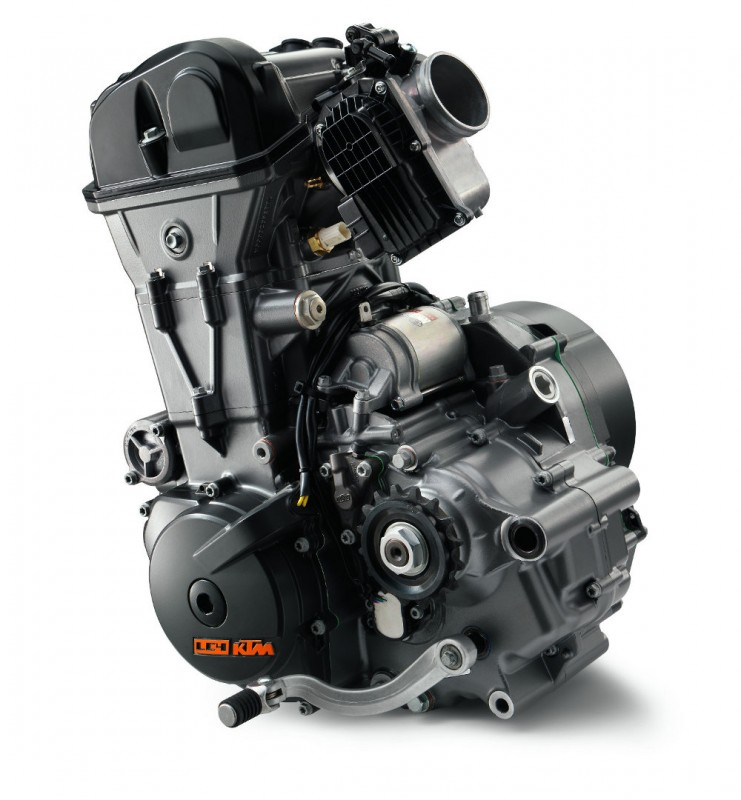 KTM 690 DUKE MY2016 engine