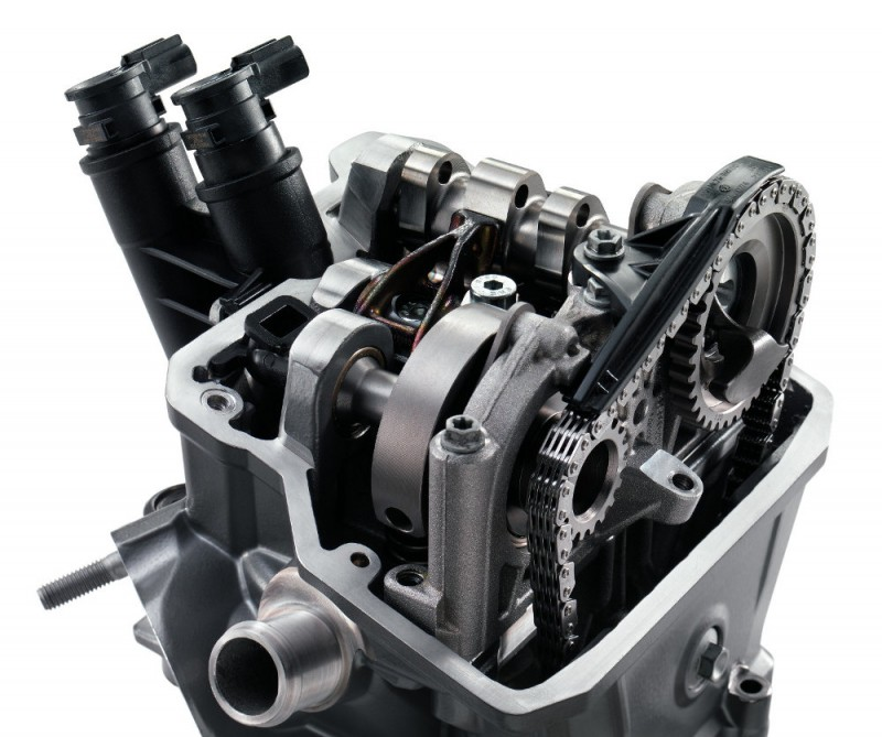 KTM 690 DUKE MY2016 cylinder head