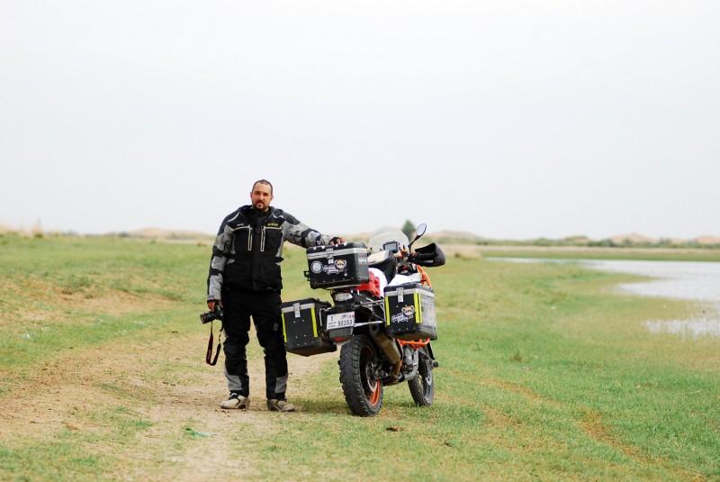 Wissam Al Jayyoussi & KTM 1190 ADVENTURE R