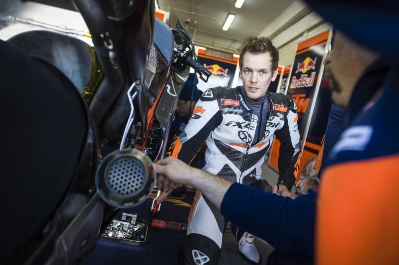 Mika Kallio (FIN) KTM RC16 Valencia (ESP) 2015