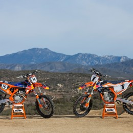 KTM 250 SX-F Factory Edition MY2016 & KTM 450 SX-F Factory Edition MY2016