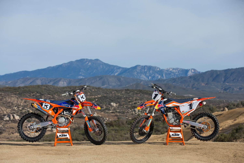 a factory kick off to the supercross season - ktm blog
